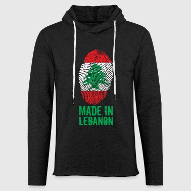 Gemaakt in Libanon / Made in Libanon اللبنانية - Lichte hoodie unisex