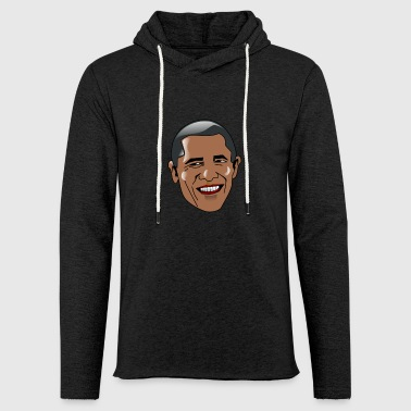 Barack Obama - Sweat-shirt à capuche léger unisexe