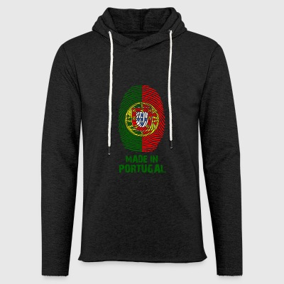 Portugal flag - Made in Portugal - gift - Light Unisex Sweatshirt Hoodie