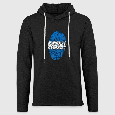 HONDURAS FINGERPRINT T-SHIRT - Light Unisex Sweatshirt Hoodie