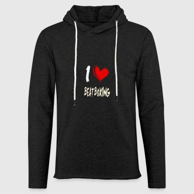 I love beatbox - Light Unisex Sweatshirt Hoodie