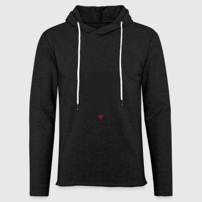 T-shirt-brain_file_stampa - Light Unisex Sweatshirt Hoodie