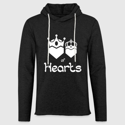 King and Queen of Hearts - Light Unisex Sweatshirt Hoodie