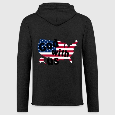 God with us - Light Unisex Sweatshirt Hoodie