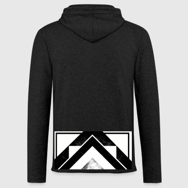 Half White Mist - Light Unisex Sweatshirt Hoodie