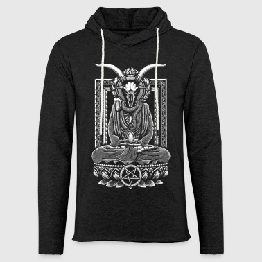 Baphomet Meditation - Light Unisex Sweatshirt Hoodie
