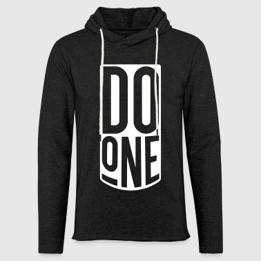 Do One, Mancunian Slang - Light Unisex Sweatshirt Hoodie