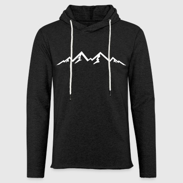 Mountain, Mountains (super cheap!) - Light Unisex Sweatshirt Hoodie