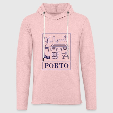 Porto collection - Sweat-shirt à capuche léger unisexe