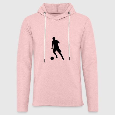 Striker au dribble - Sweat-shirt à capuche léger unisexe