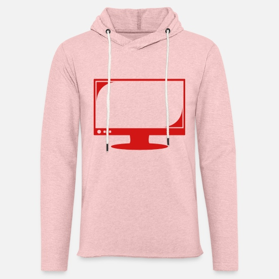 Play Hoodies & Sweatshirts - Bildschirm 3 - Unisex Sweatshirt Hoodie cream heather pink