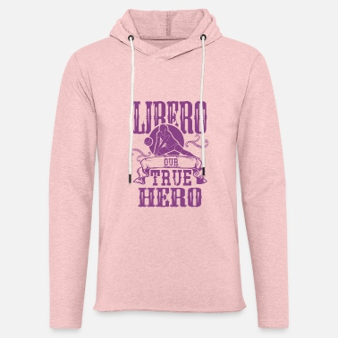 Libero Beach Volley Verein Club Ball Spieler Libero Held - Unisex Kapuzen-Sweatshirt