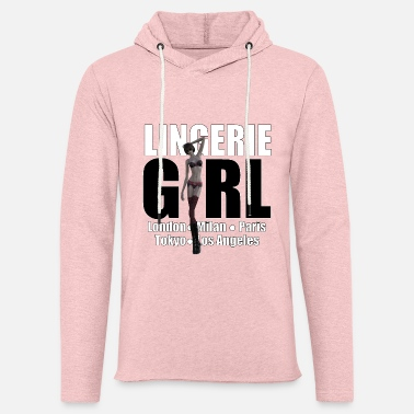 Trend Underwear The Fashionable Woman - Lingerie Girl - Unisex Sweatshirt Hoodie