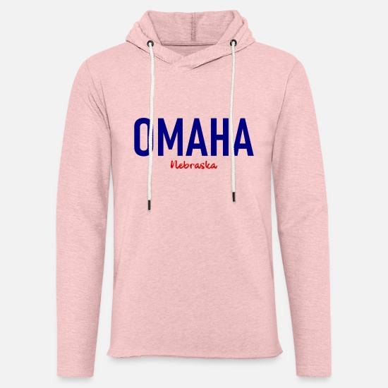 Gift Idea Hoodies & Sweatshirts - Omaha - Nebraska - United States - United States - Unisex Sweatshirt Hoodie cream heather pink