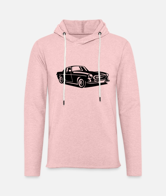 P Hoodies & Sweatshirts - Volvo P1800 The Saint - Unisex Sweatshirt Hoodie cream heather pink