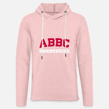 Sammenslutning ABC ENGINEERGING - Let sweatshirt med hætte, unisex