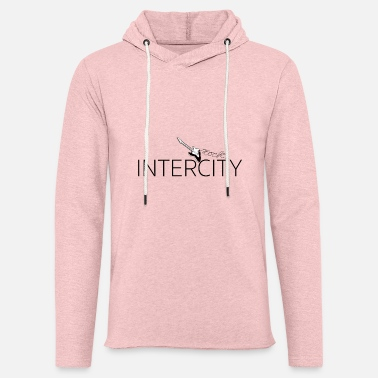 intercity - Let sweatshirt med hætte, unisex
