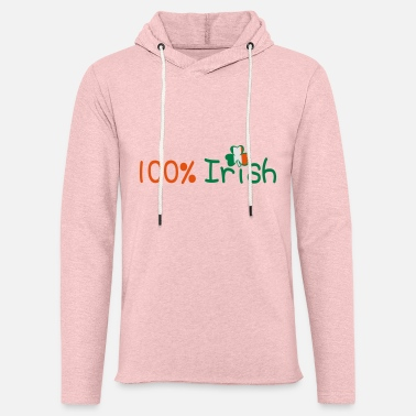 Uk Underwear ♥ټ☘Kiss Me I'm 100% Irish-Irish Rule☘ټ♥ - Unisex Sweatshirt Hoodie