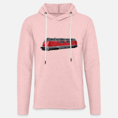 Modelo Modelo Rink Train Lok Electric Train Moderno Regalo - Sudadera con capucha ligera unisex