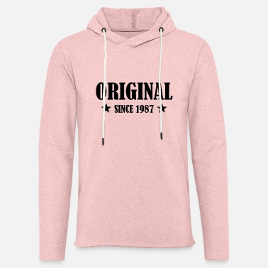 BDAY ORIGINAL SINCE 1987 BIRTHDAY GIFT IDEA - Unisex Kapuzen-Sweatshirt