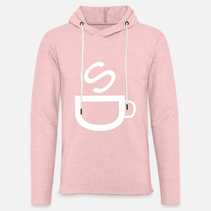 Coffee Bean Hoodies & Sweatshirts - Cafe | Coffee | Bistro | Restaurant | Kaffetasse - Unisex Sweatshirt Hoodie cream heather pink