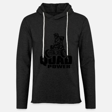 Raptor quad_power - Unisex Kapuzen-Sweatshirt