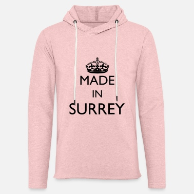 Personalise: Made In Surrey - Unisex Sweatshirt Hoodie