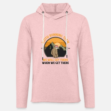 Hiking Sloth Running, Sloth Running Team - Unisex Sweatshirt Hoodie