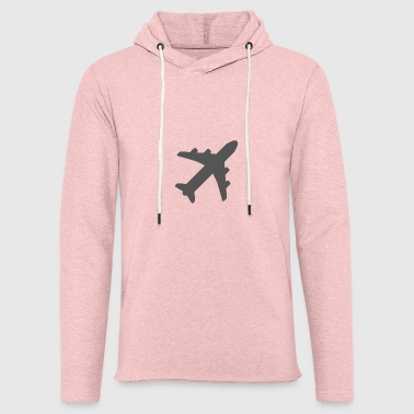 avion - Sweat-shirt à capuche léger unisexe