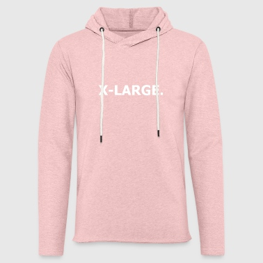 X Large. - Light Unisex Sweatshirt Hoodie