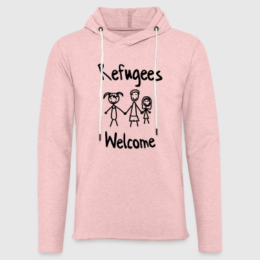 Refugees Welcome Refugees Welcome - Light Unisex Sweatshirt Hoodie