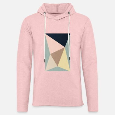 Yankee GEOMETRIC MINIMAL TRIANGLES AND COLORS - Sudadera ligera unisex con capucha