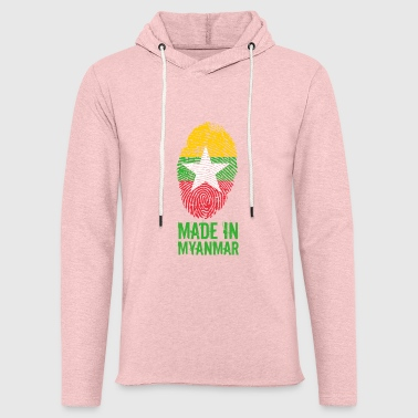 Made In Myanmar / Birmanie / Birmanie - Sweat-shirt à capuche léger unisexe