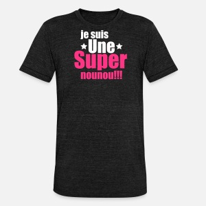 T-shirt chiné unisexe