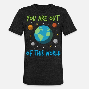 Planet Planet Earth Space All Stars Space Mars - Unisex Tri-Blend T-Shirt