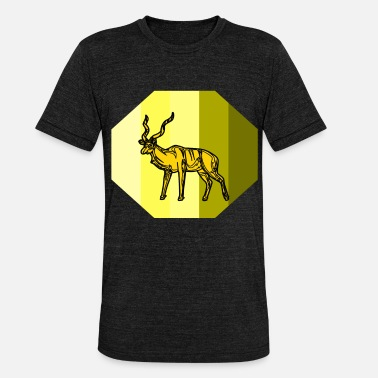 Antilopen antilope - Unisex tri-blend T-shirt van Bella + Canvas