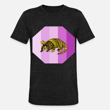 Armadillo armadillo - Unisex Tri-Blend T-Shirt by Bella & Canvas
