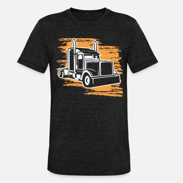 Big Trucks Big Truck Driver - Unisex Tri-Blend T-Shirt by Bella & Canvas