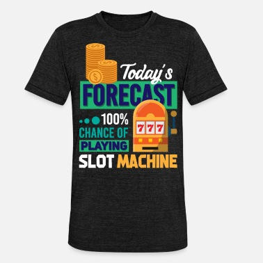 Slot Slot machine - Unisex Tri-Blend T-Shirt