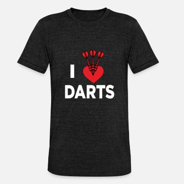 Bar Sports Darts bar sport hobby gift - Unisex Tri-Blend T-Shirt