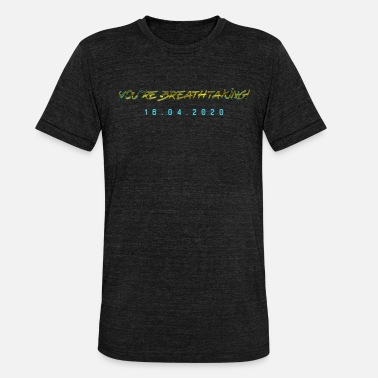 Cyber You're Breathtaking! Future Cyber Gamer Punk - Unisex T-Shirt meliert