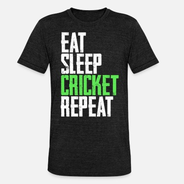 Cricket Cricket cricketer - Triblend T-shirt unisex