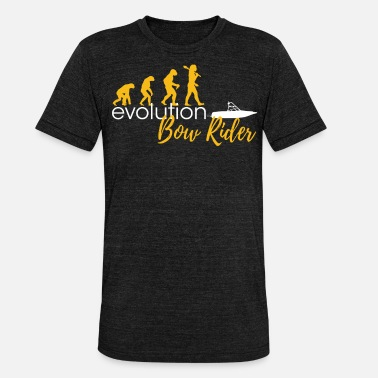 Bow Rider Evolution Of Bow Riders - Unisex Tri-Blend T-Shirt