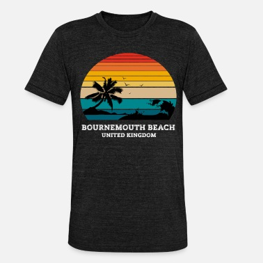 Bournemouth BOURNEMOUTH BEACH VERENIGD KONINKRIJK - Unisex triblend T-shirt