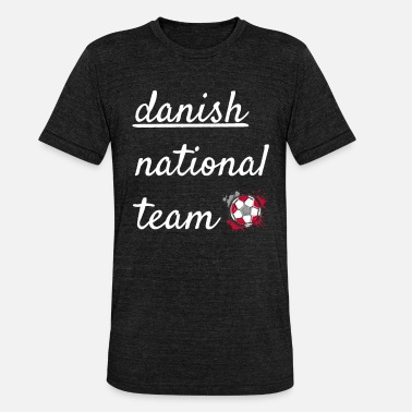 National Team Danish national team - Unisex Tri-Blend T-Shirt