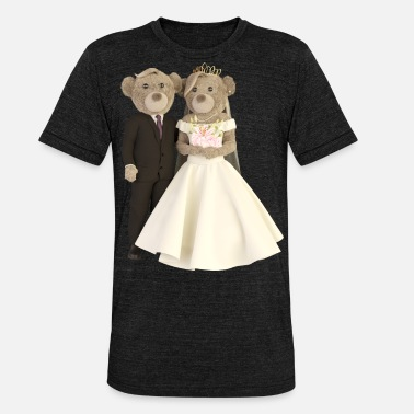 Wedding Just Married (Marriage / Wedding) #weddingcontest - Unisex triblend T-shirt