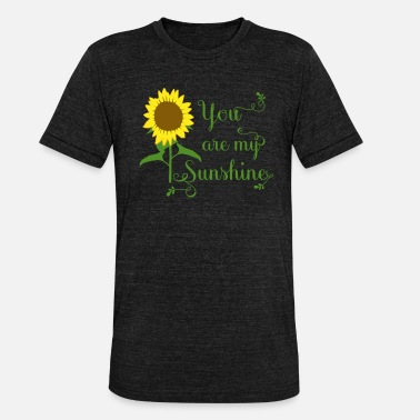 Sunshine You are my Sunshine - Unisex Tri-Blend T-Shirt