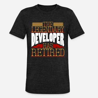 Development developer - Unisex Tri-Blend T-Shirt