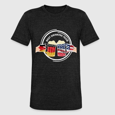 Erasmus Regalo de Beer USA - Camiseta Tri-Blend unisex de Bella + Canvas