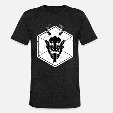 Tatuaje Del Diablo Tatuaje del diablo Satan Tattoo Hexagon Swag Tattoo regalo - Camiseta Tri-Blend unisex de Bella + Canvas